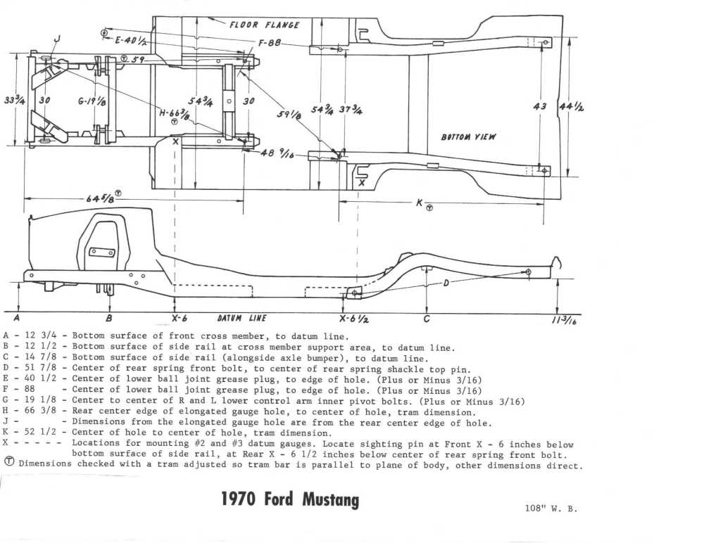 medium resolution of ford mustang frames diagram wiring diagram used ford mustang frames diagram