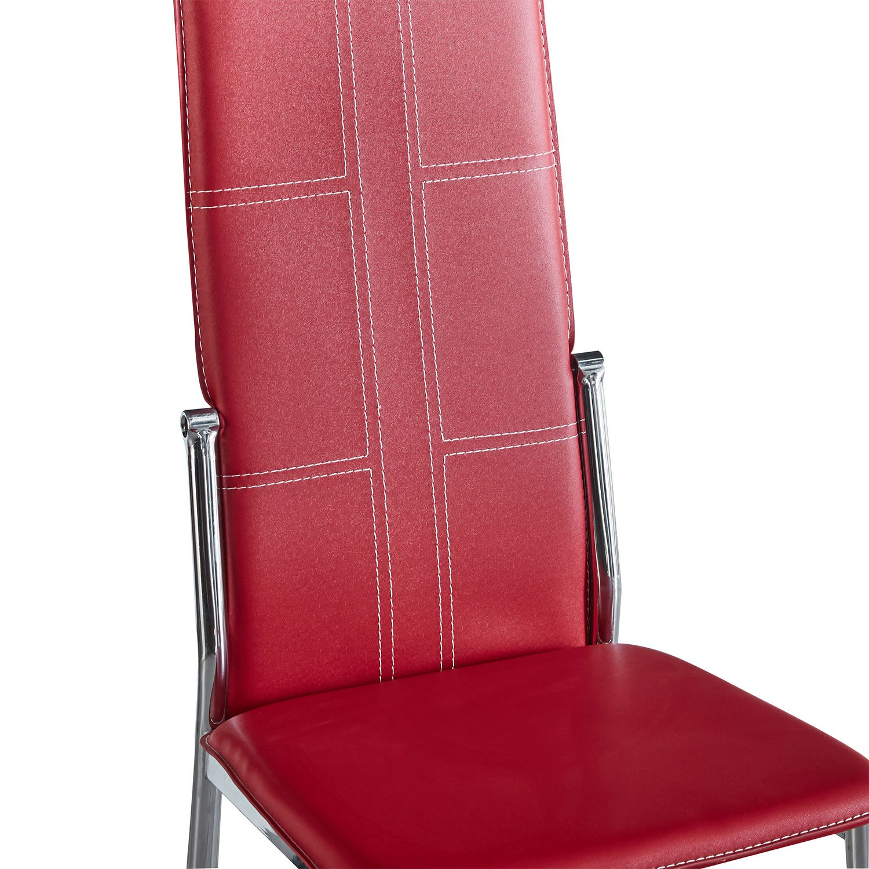 comedor-líbano-elegante-de-acero-con-6-sillas-altas-5