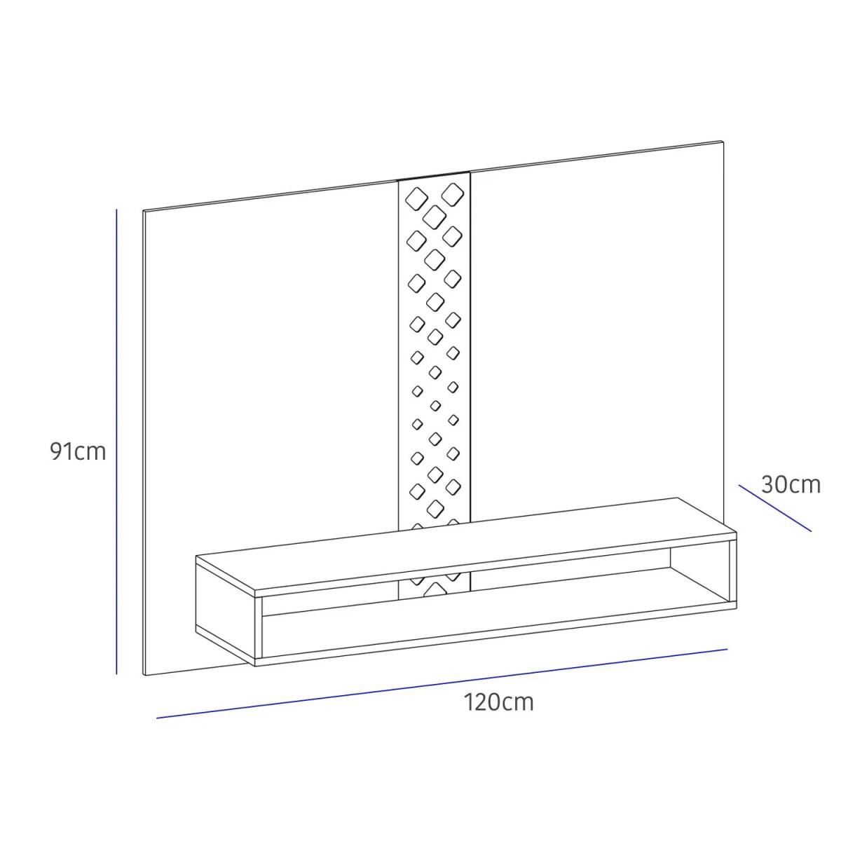 panel para tv form 4
