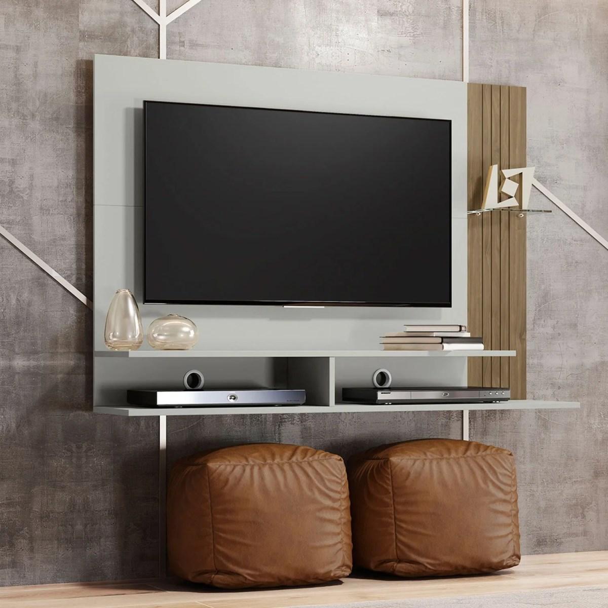 panel para tv ipe avellana 4