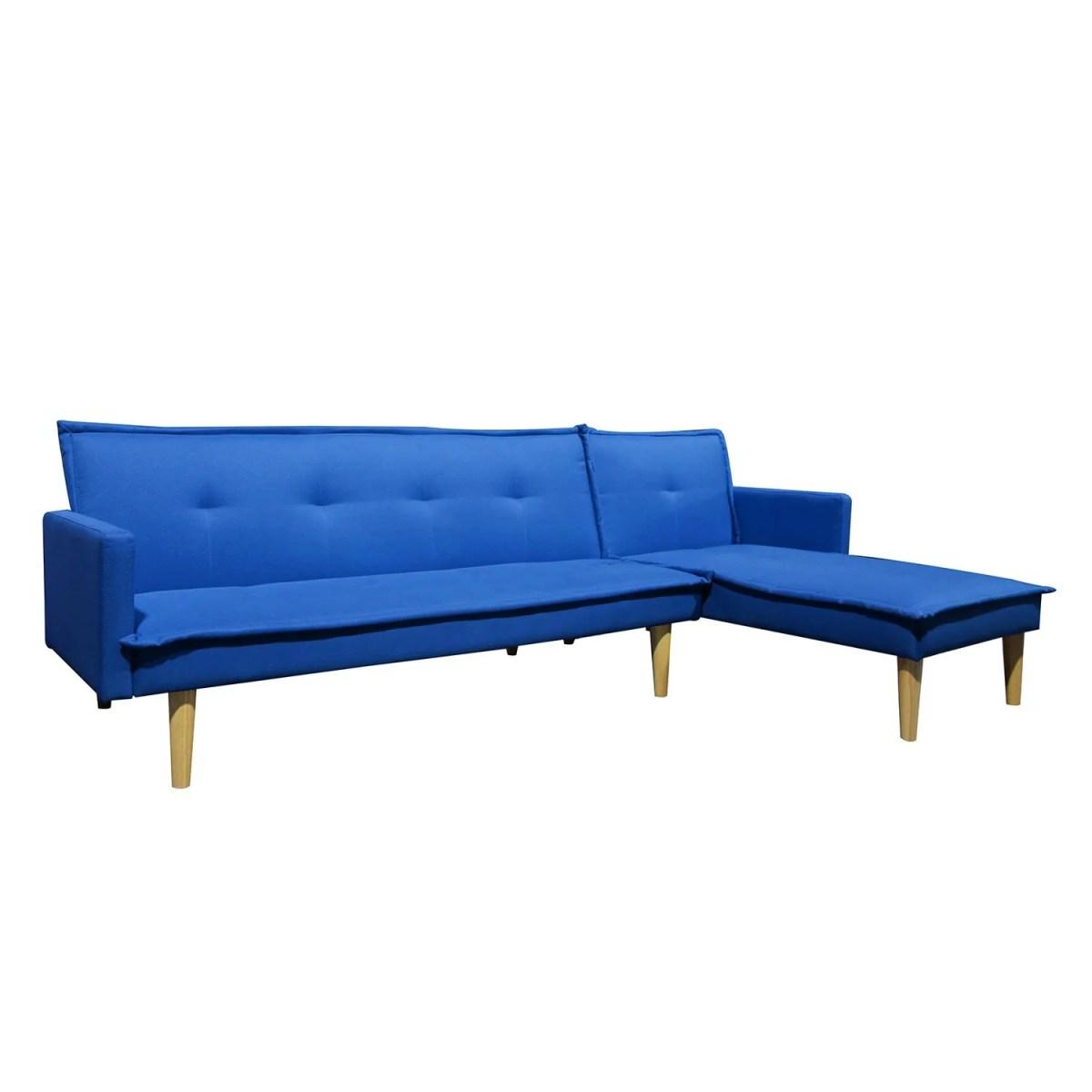 sala esquinada sofá cama independencia azul 2