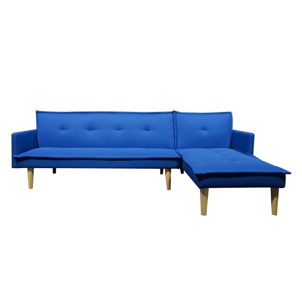 sala esquinada sofá cama independencia azul 4
