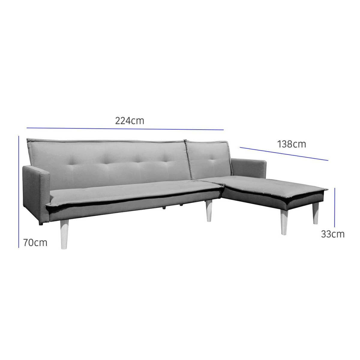 sala esquinada sofá cama independencia azul 9