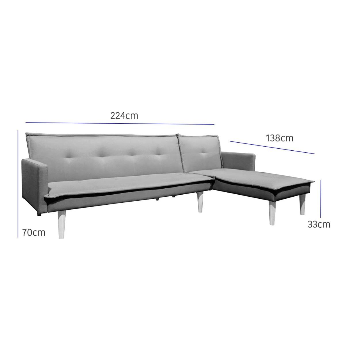 sala esquinada sofá cama independencia rojo 9