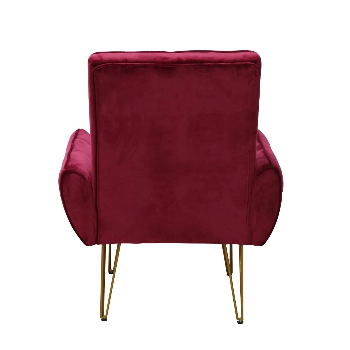 sillon vintage vendome rojo 4