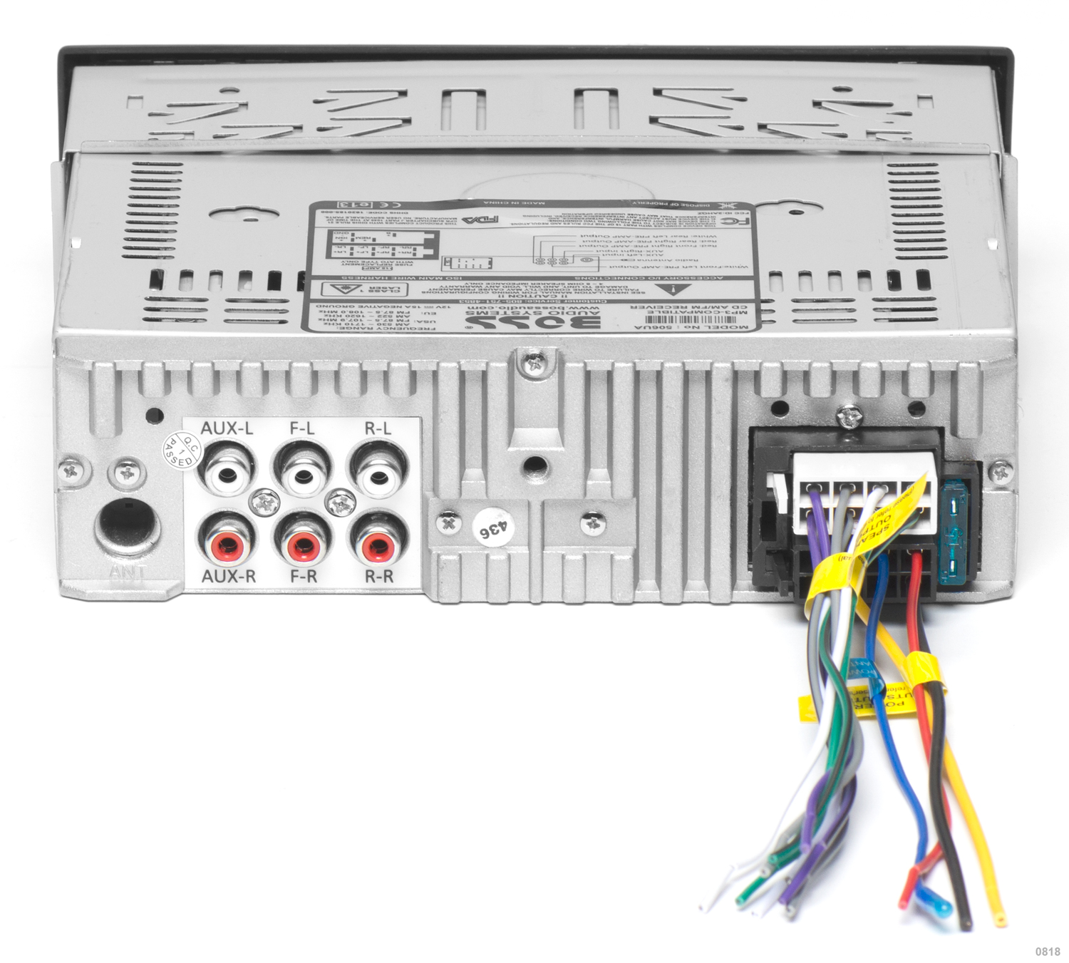 hight resolution of 506ua boss audio systems 506ua rear 506ua boss audio systems boss audio wiring harness at cita asia
