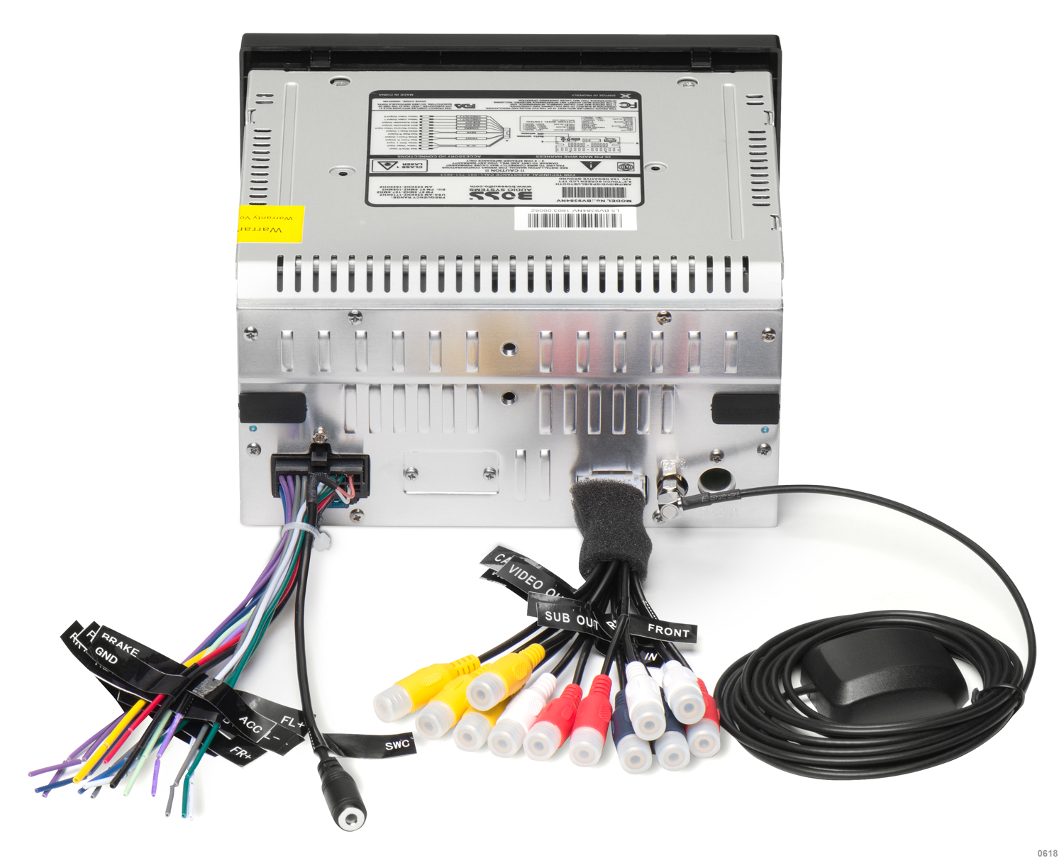 hight resolution of boss radio bv9364b wiring harness