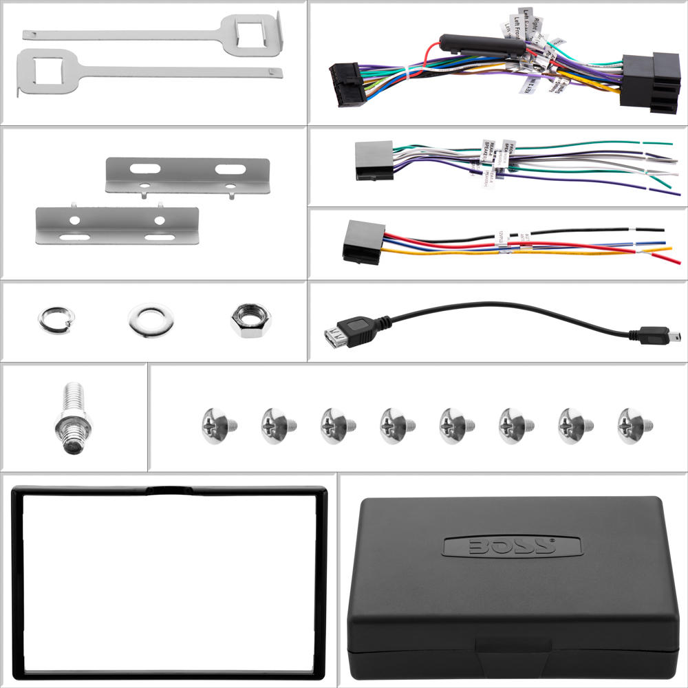 medium resolution of boss bv9755 wiring harness 26 wiring diagram images boss car stereo wiring harness boss stereo wiring
