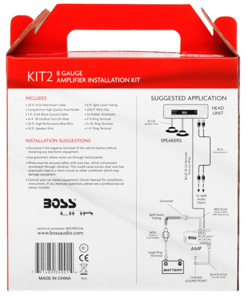 small resolution of kit2 boss audio systemsboss 1100w amp wiring diagram 14