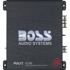 Rockford Fosgate Capacitor Wiring Diagram Dell Inspiron 530 Motherboard R1100m Boss Audio Systems