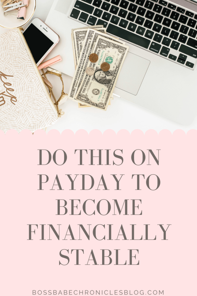 What You Should Be Doing Right After Payday