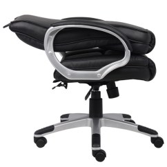 Boss Ntr Executive Leatherplus Chair Design Drawing B8601 Chairs