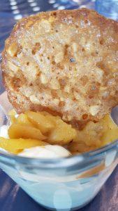 gebakken appel-hangop-kletskop