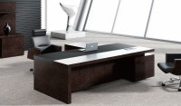Best Leading Office Table In Leather & Wood: Boss's Cabin