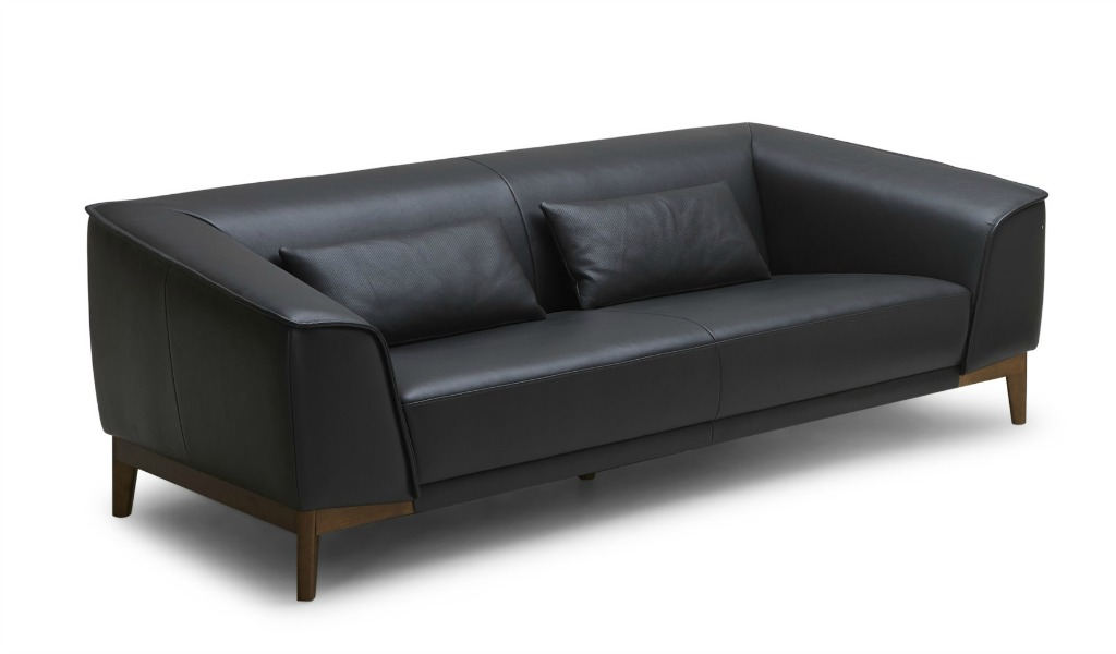 Sirius Plush Two Seater Office Sofa In Leather: Boss's Cabin