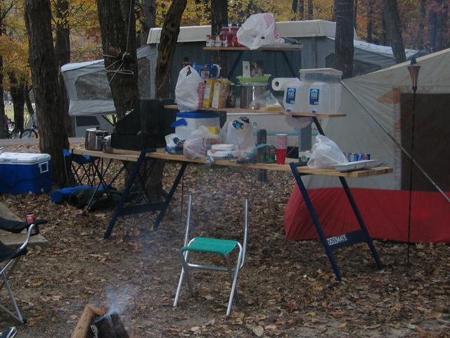 Bossmate Workbench Camping