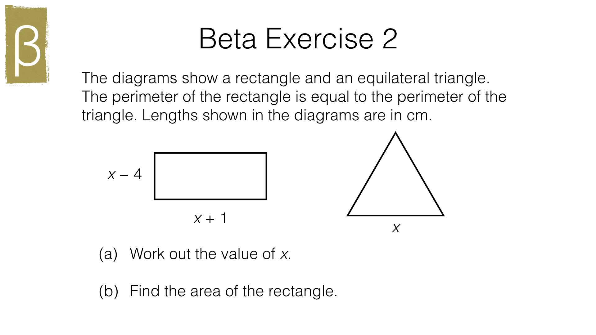 A21b Deriving And Solving An Equation Or Simultaneous