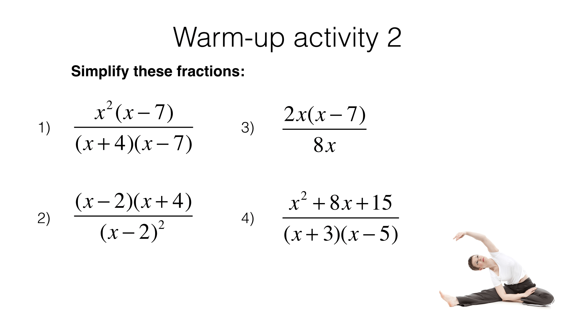 A4g Adding And Subtracting Algebraic Fractions