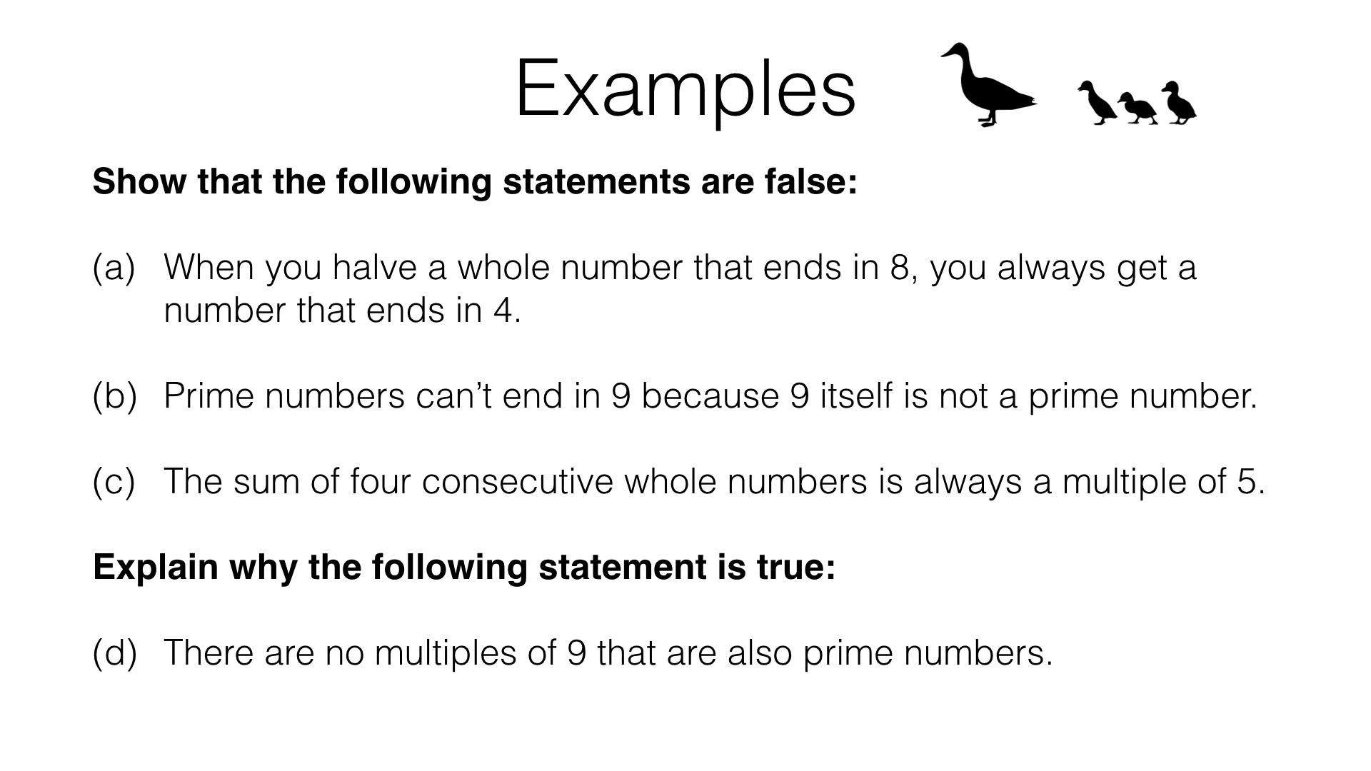 A6a Arguing Mathematically Bossmaths