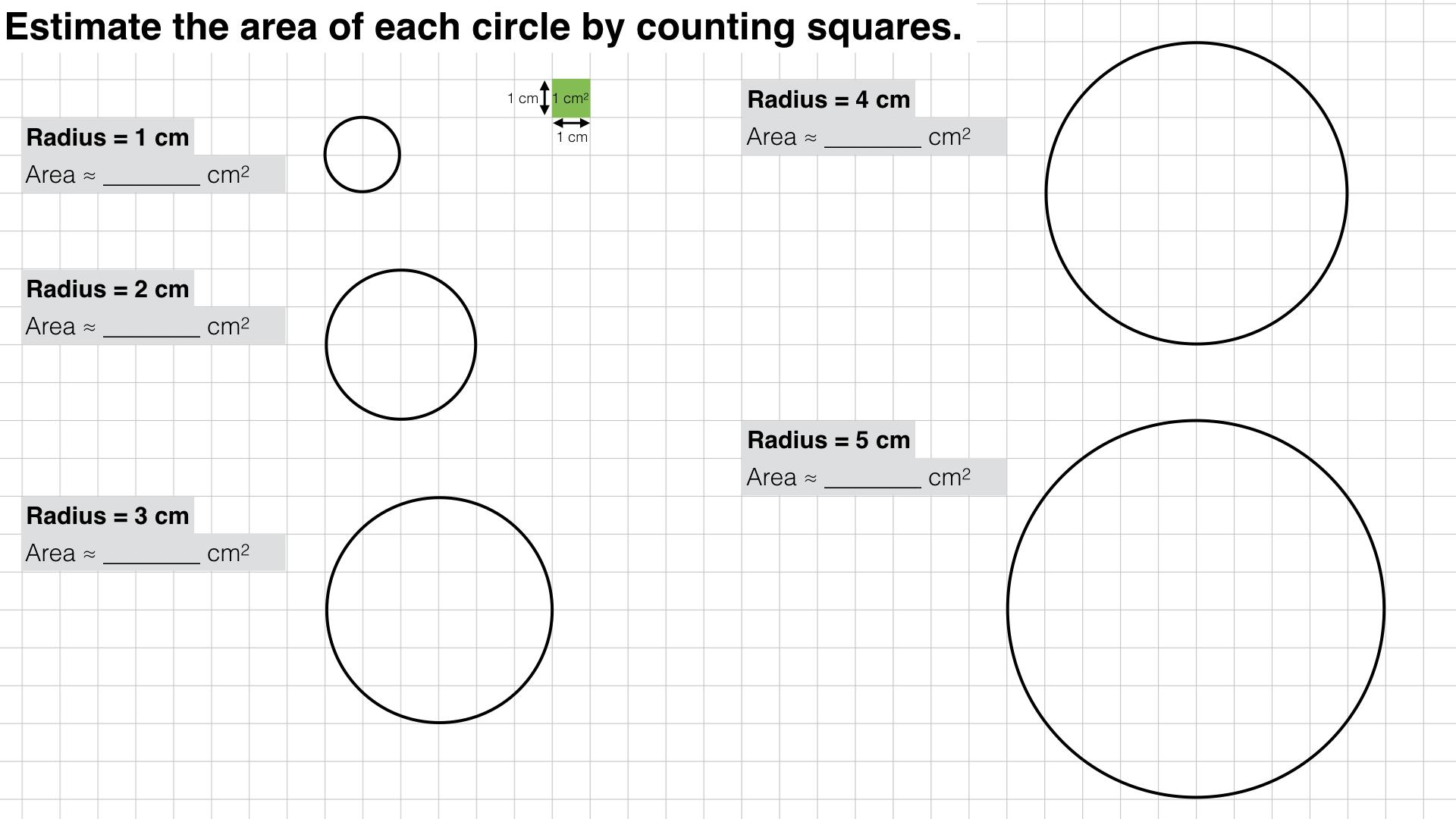 G17c Area Of A Circle Bossmaths