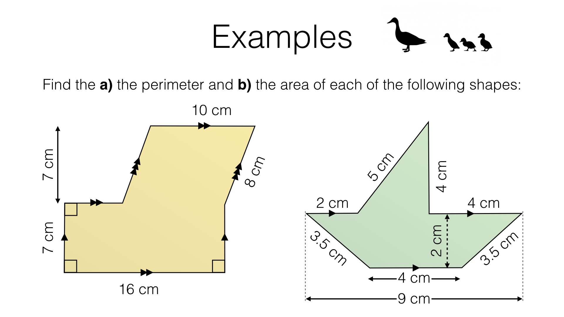 G17d Perimeter And Area Of Composite Shapes Made Up Of Polygons Bossmaths