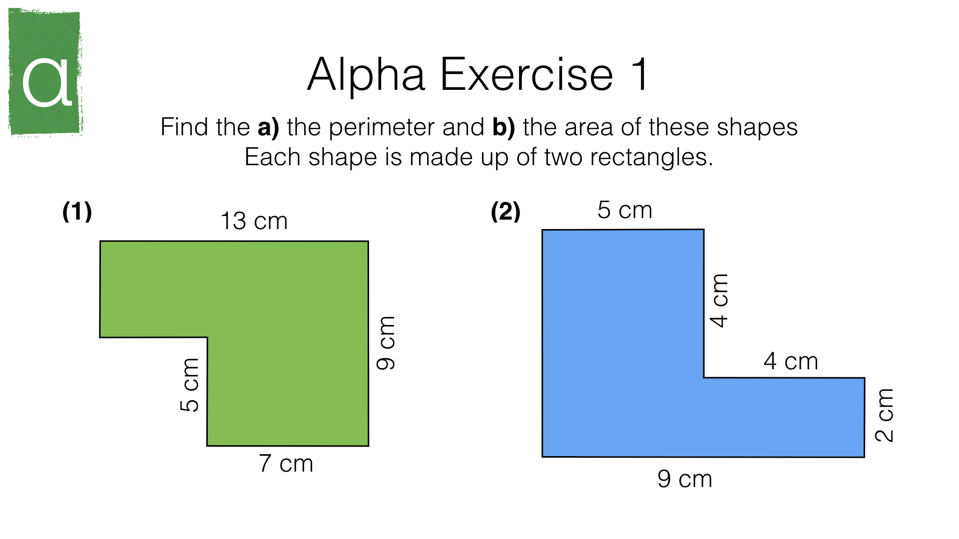 G17d Perimeter And Area Of Composite Shapes Made Up Of