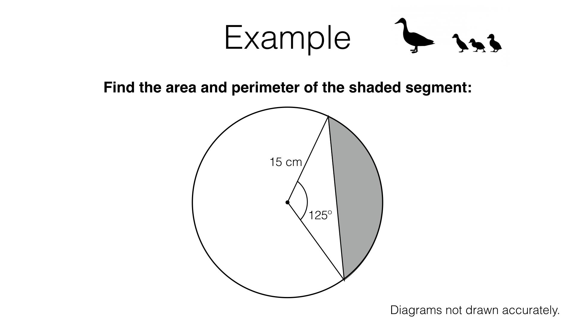 G18a – Arcs and sectors of circles