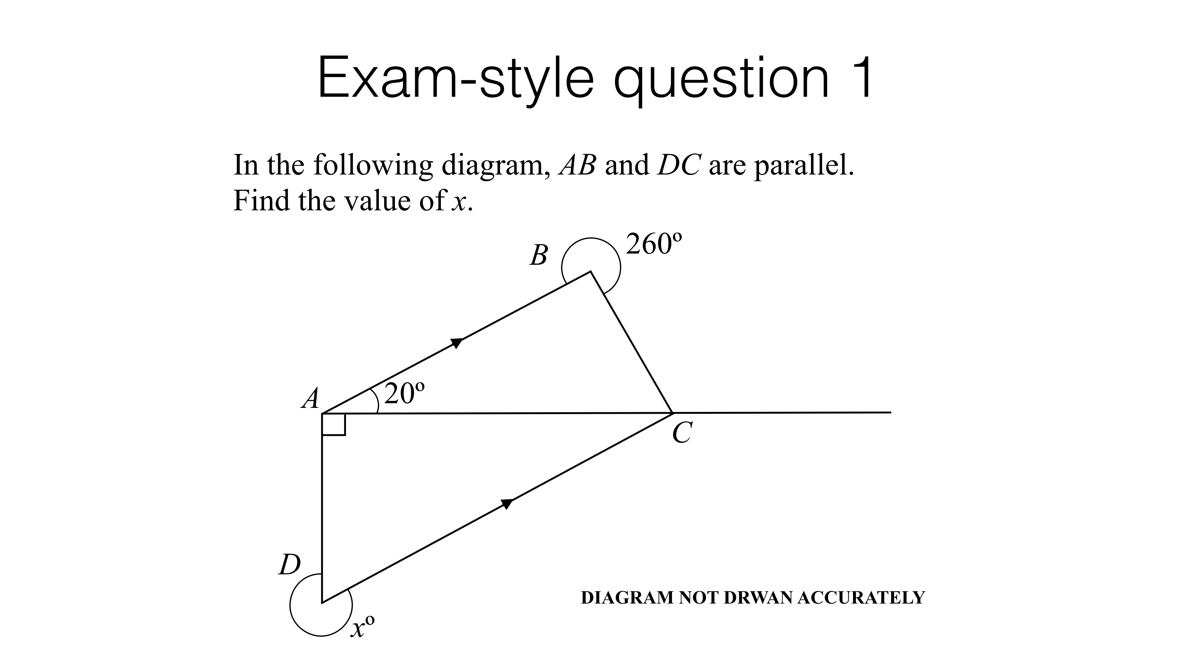 G6a Simple Geometric Proofs Bossmaths