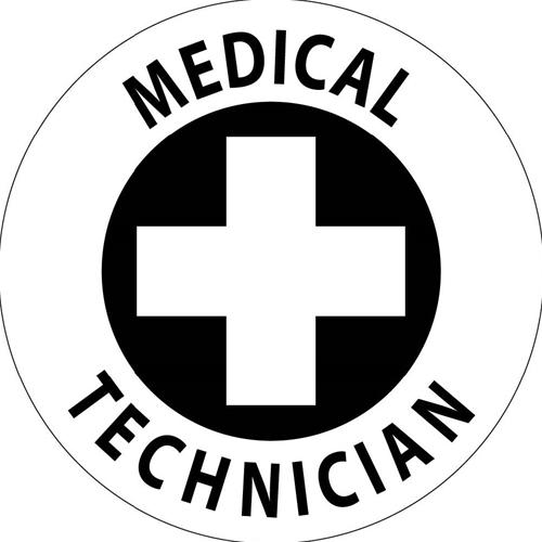 Medical Technician Hard Hat Emblem (HH49)