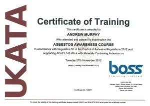 Fuse Box Templates Online Ukata Asbestos Awareness Training Course Licensed Ukata