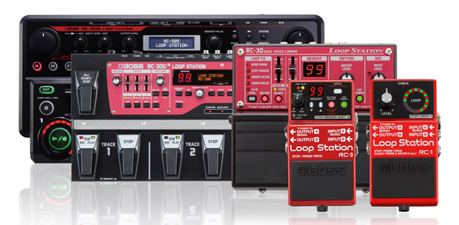 BOSS Loop Station family