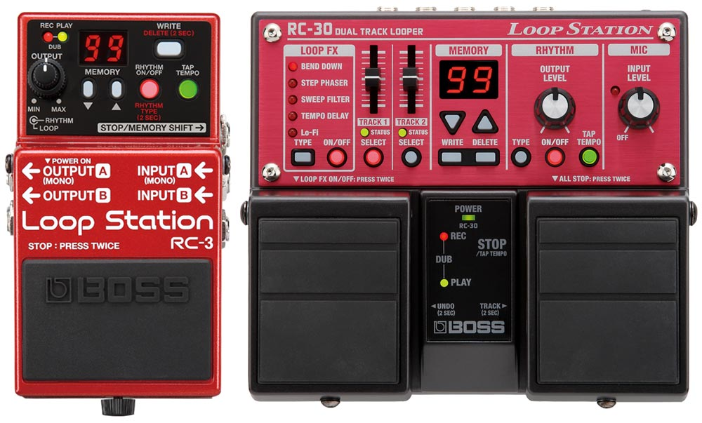 RC-3 and RC-30 Loop Stations