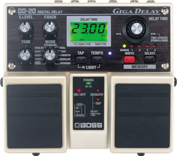 History of BOSS Delay: DD-20
