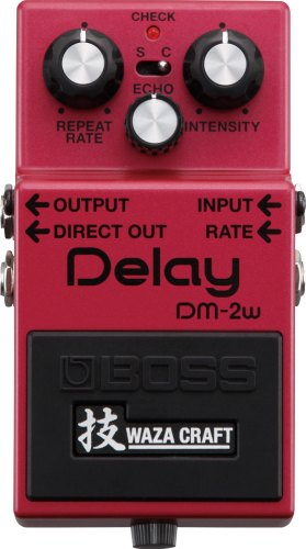 History of BOSS Delay: DM-2W
