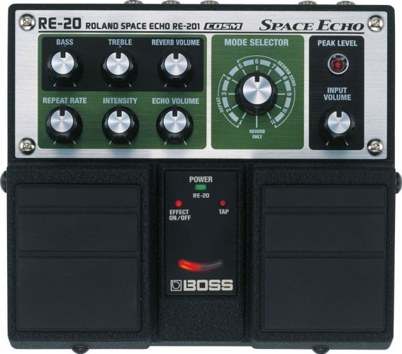 History of BOSS Delay: RE-20