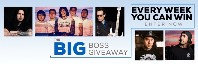 Big BOSS Giveaway