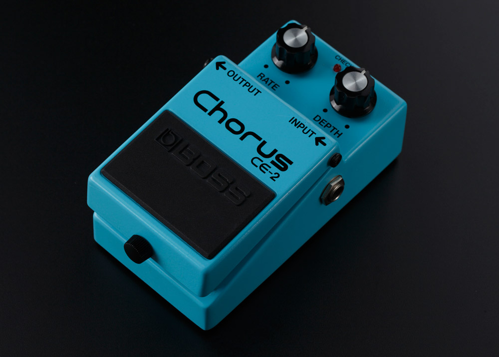 The CE-2W Chorus reproduces the sound of the CE-2 from 1979.