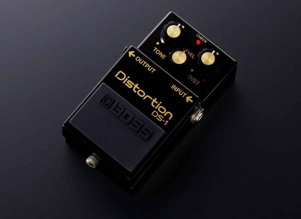 Limited-edition BOSS DS-1 Distortion pedal.