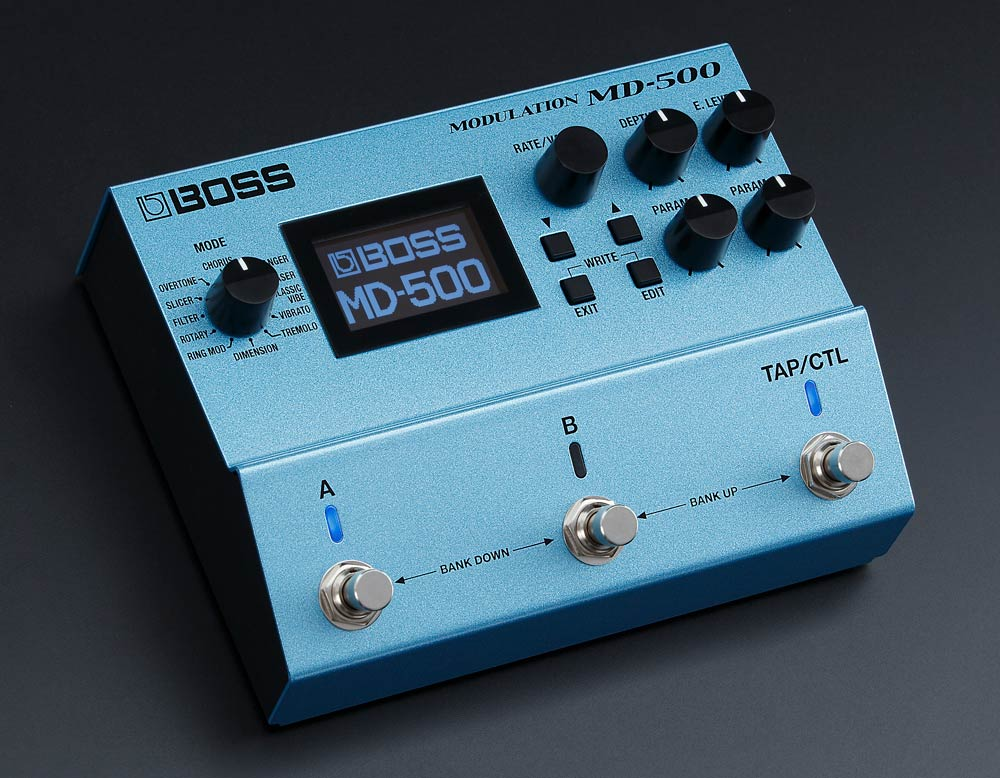 BOSS MD-500 Modulation.