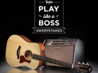 Win a Taylor Guitar and BOSS Acoustic Guitar Amp