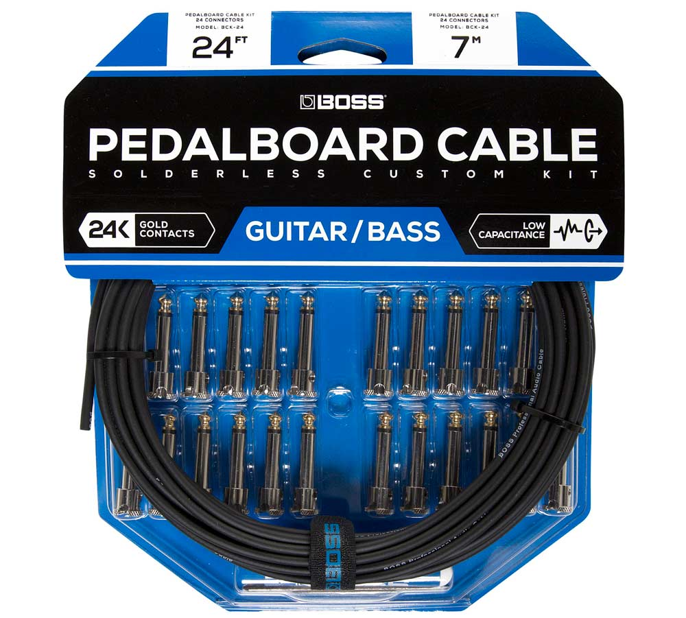 medium resolution of boss pedalboard cable kit line wins best in show