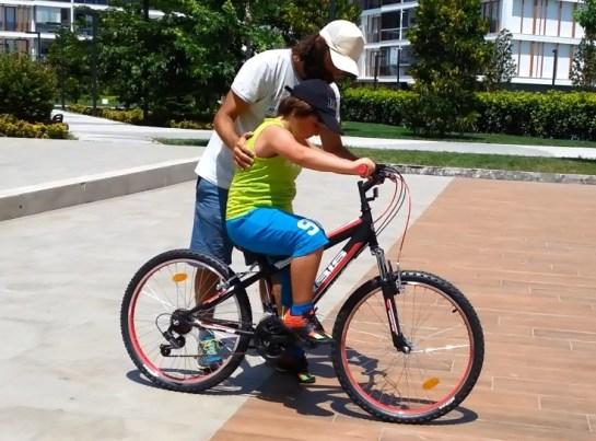 Bisiklet Nasıl Sürülür - ilk pedal
