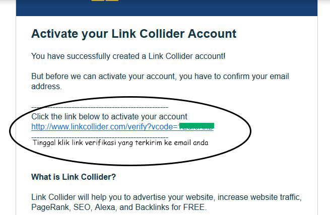verifikasi toolseo linkcollider