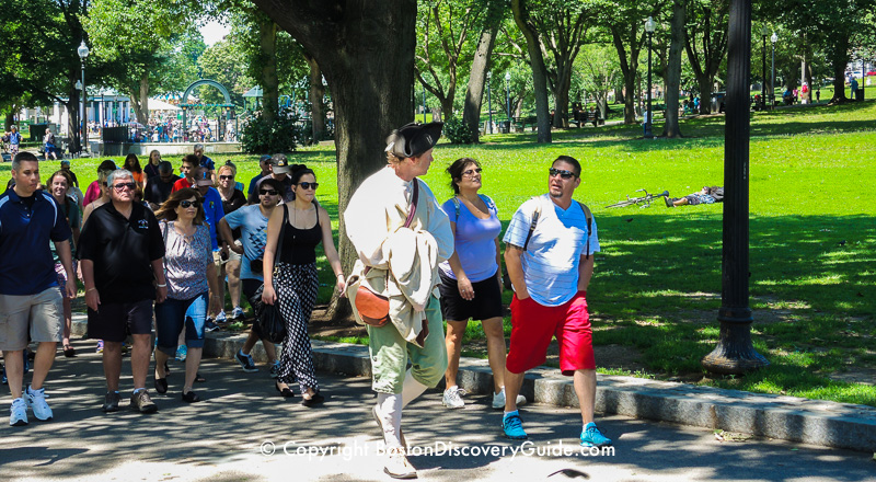 Freedom Trail Tours Tickets Discounts Boston