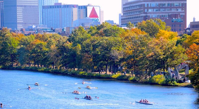 Head Of The Charles Regatta 2018 Boston October Event