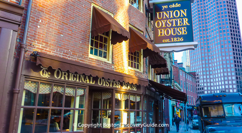Union Oyster House Historic Boston Seafood Restaurant