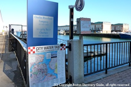 Boston Water Taxis  Fast Affordable Boston Waterfront