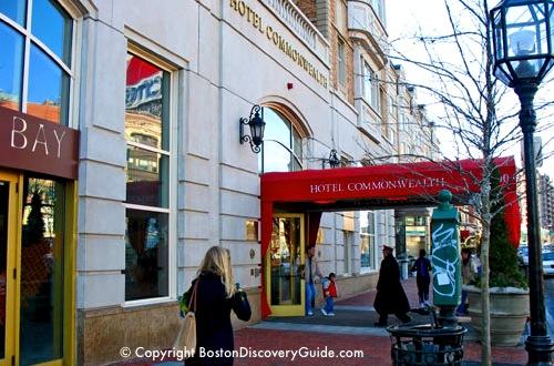 Hotel Commonwealth Boston  Boston Luxury Hotels  Hotels