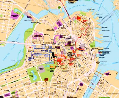 best boston map for