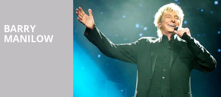 Barry Manilow On Tour Tickets Information Reviews